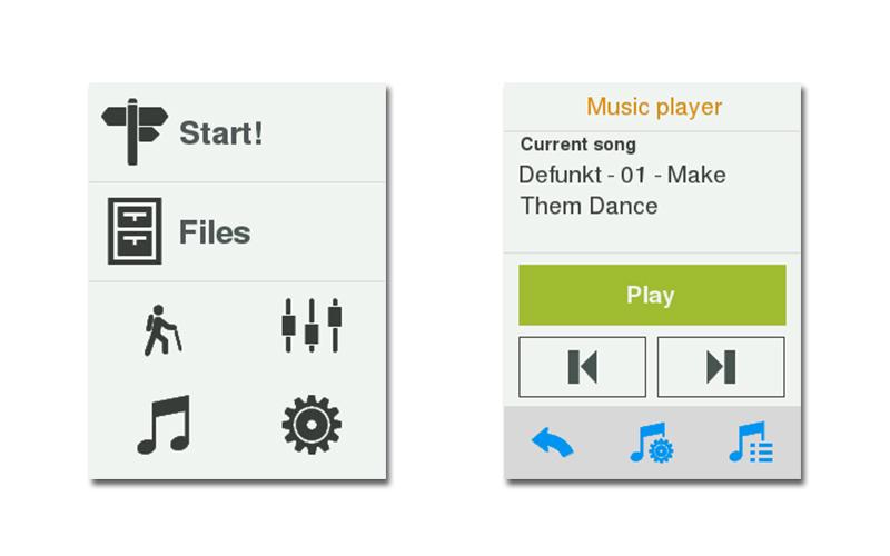 Genießen Sie Ihre Lieblingsmusik mit dem TwoNav Ultra!